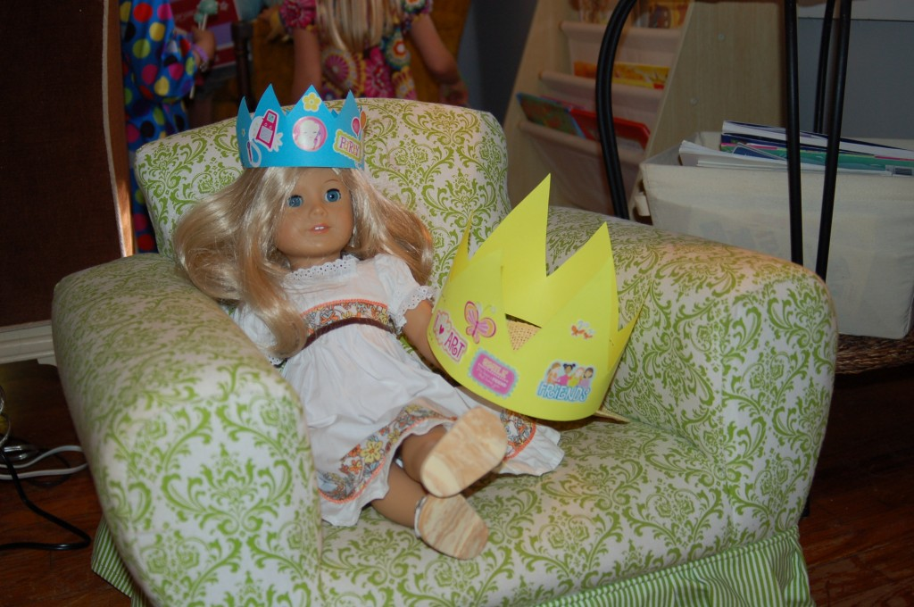 Homemade American Girl Birthday Party