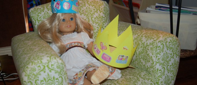 Homemade American Girl Birthday Party