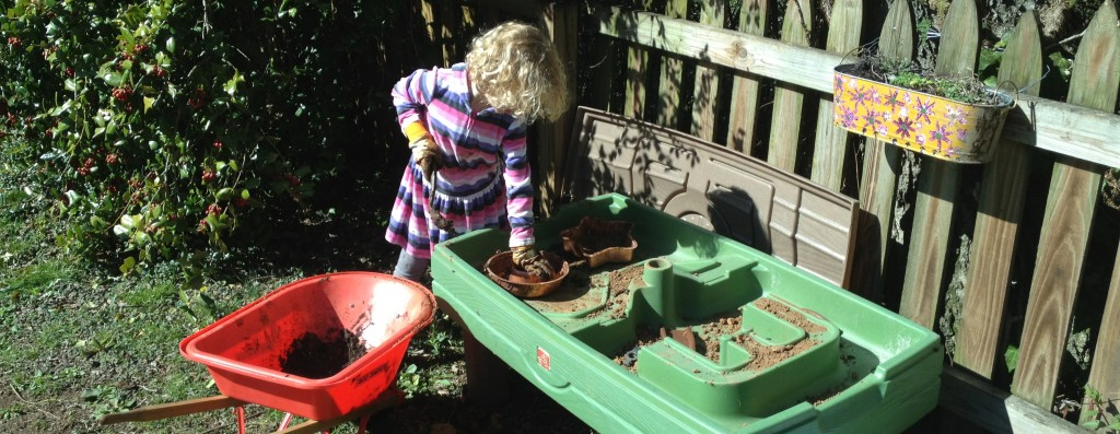Spring mud pies and backyard ideas from Pinterest