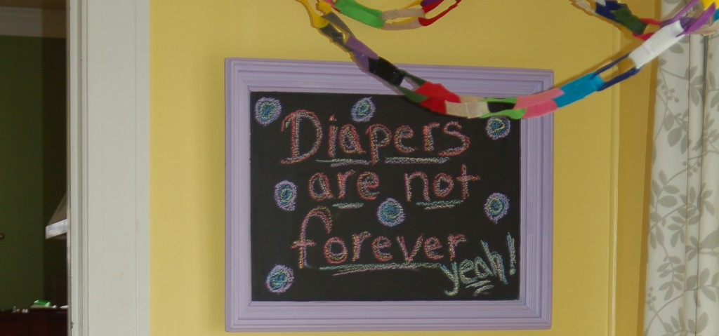 Potty Party celebrates that diapers are not forever!