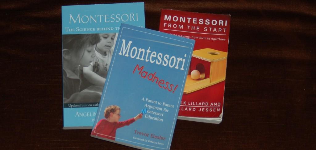 Giveaway :: Set of three Montessori books
