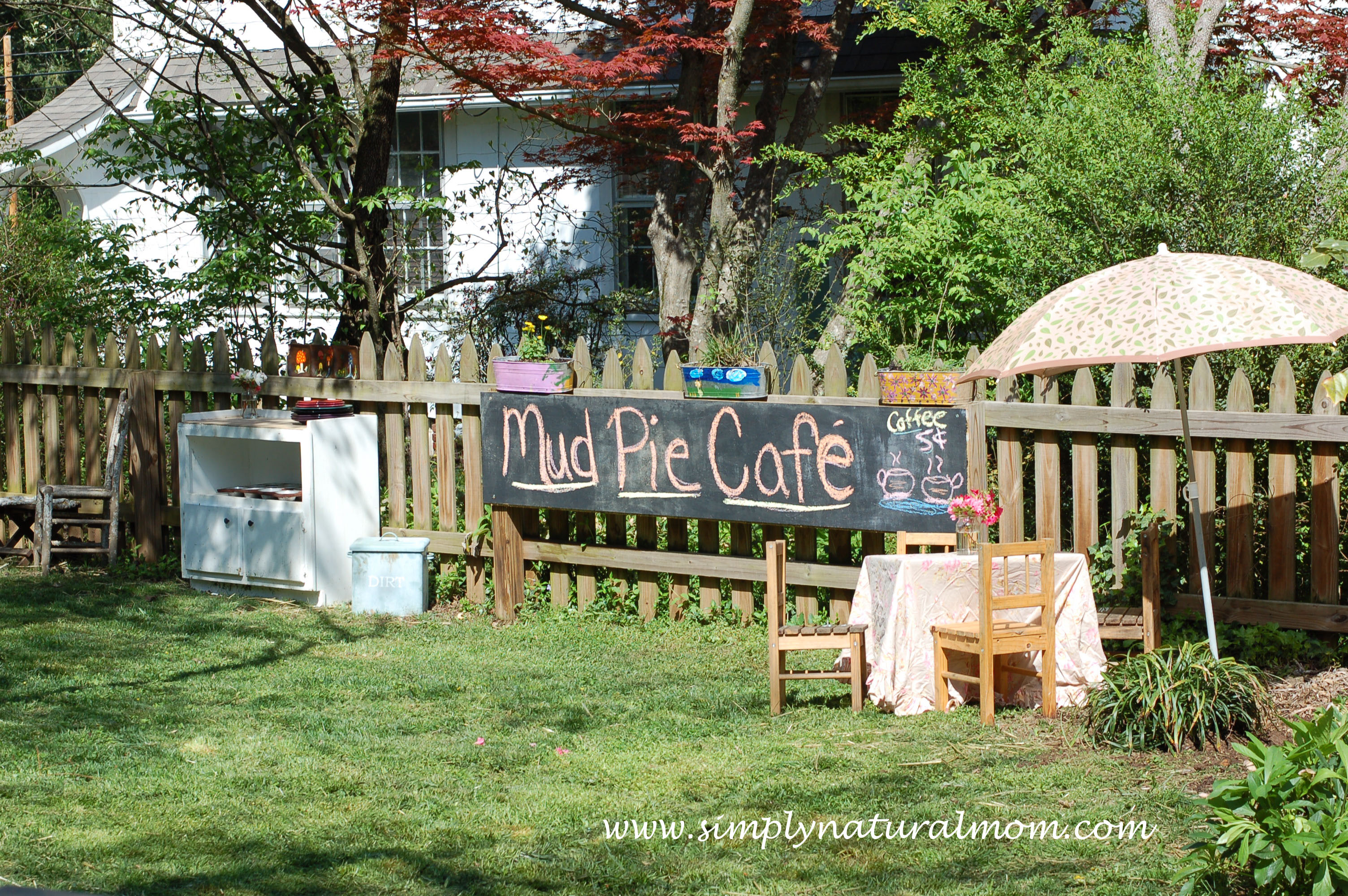 Kitchen Garden Cafe Mud Pie Cafe Brings Lots Of Backyard Fun Simply Natural Mom