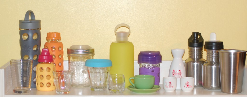 Ideas for avoiding plastic cups, from babies to adults