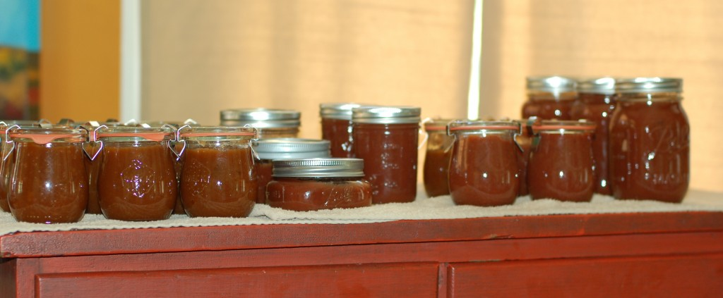 We have apple butter!