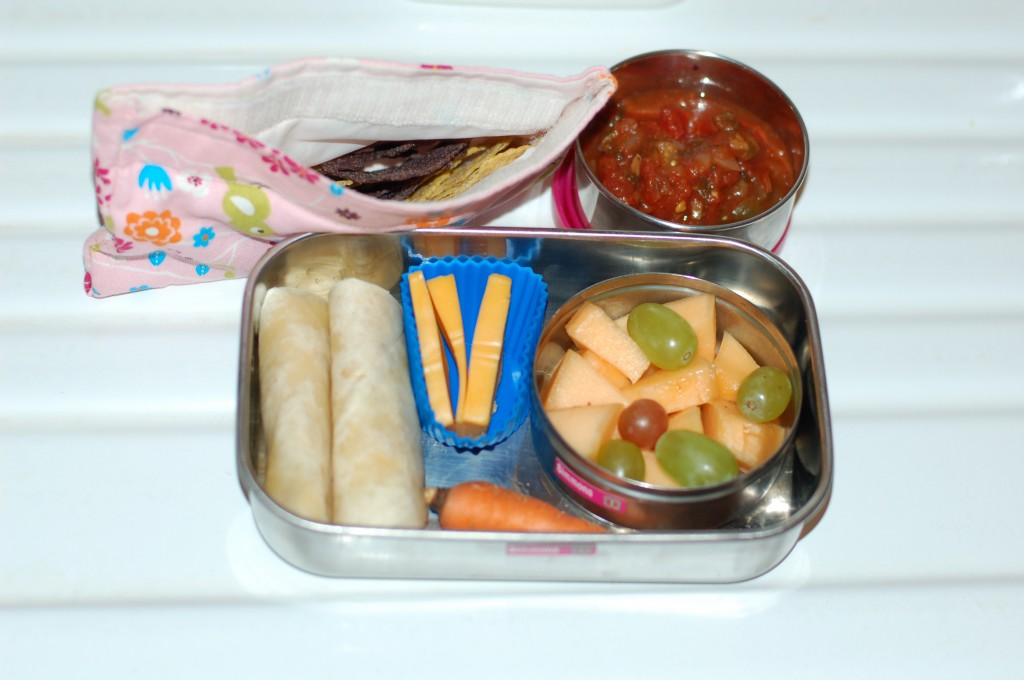 A week of simple, fresh food lunches for school