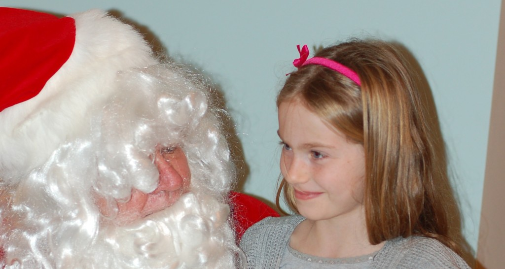 The BIG SANTA truth talk, and growing up
