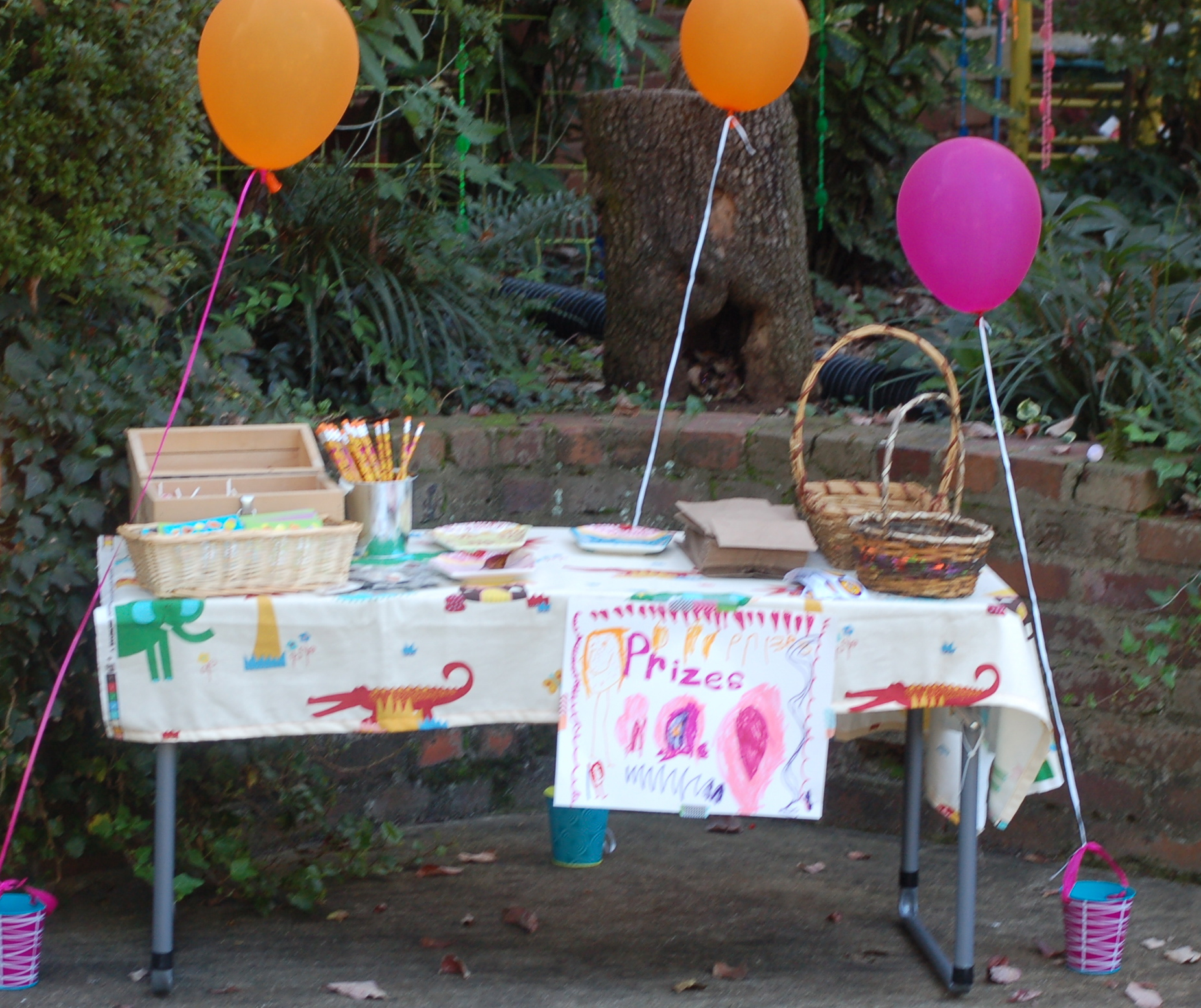 celebrating four and a backyard party full of fall fun simply