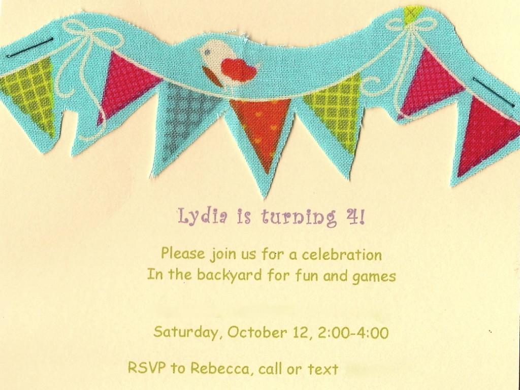 L invite