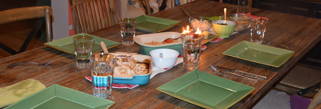 Cooking, vegetarianism and family food battles