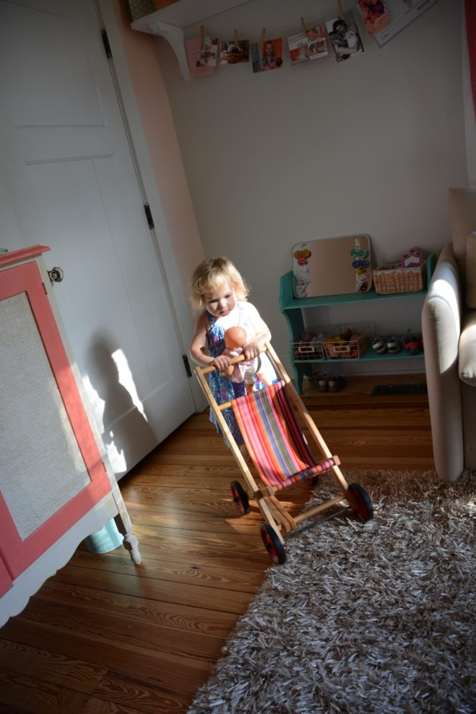 Toddler tour of spaces