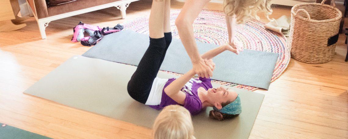 Yoga play at home