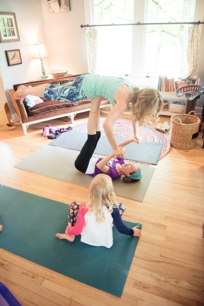 Yoga play at home